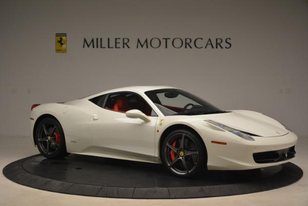 Used 2014 Ferrari 458 Italia for sale Sold at Aston Martin of Greenwich in Greenwich CT 06830 10