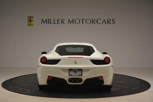 Used 2014 Ferrari 458 Italia for sale Sold at Aston Martin of Greenwich in Greenwich CT 06830 6