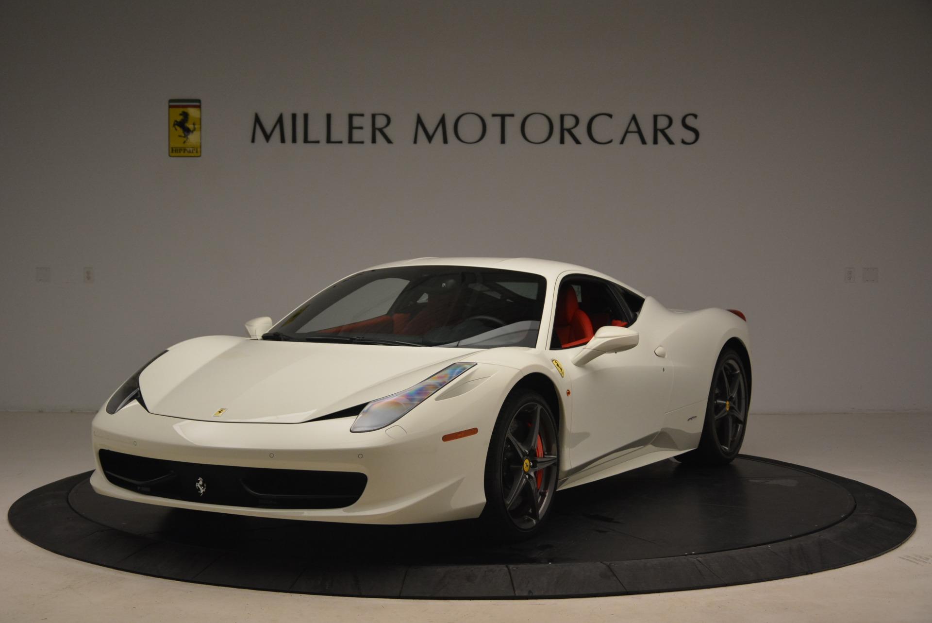 Used 2014 Ferrari 458 Italia for sale Sold at Aston Martin of Greenwich in Greenwich CT 06830 1