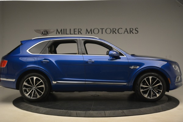 Used 2018 Bentley Bentayga W12 Signature for sale $169,900 at Aston Martin of Greenwich in Greenwich CT 06830 9