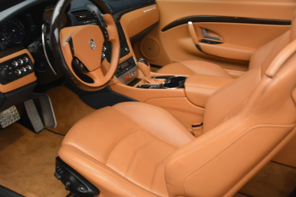 Used 2014 Maserati GranTurismo Sport for sale Sold at Aston Martin of Greenwich in Greenwich CT 06830 24
