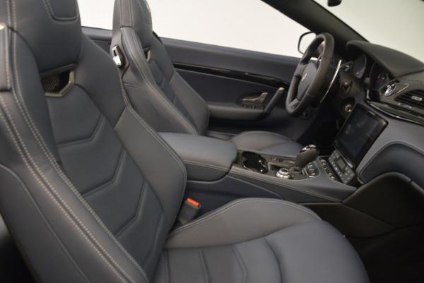 New 2018 Maserati GranTurismo Sport Convertible for sale Sold at Aston Martin of Greenwich in Greenwich CT 06830 23