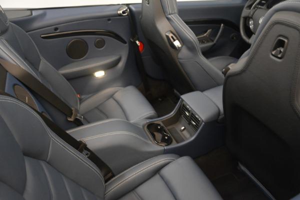 New 2018 Maserati GranTurismo Sport Convertible for sale Sold at Aston Martin of Greenwich in Greenwich CT 06830 25