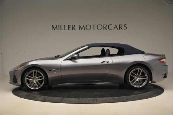 New 2018 Maserati GranTurismo Sport Convertible for sale Sold at Aston Martin of Greenwich in Greenwich CT 06830 4