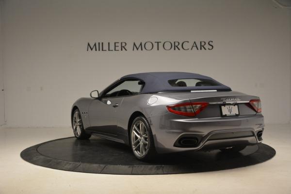New 2018 Maserati GranTurismo Sport Convertible for sale Sold at Aston Martin of Greenwich in Greenwich CT 06830 6