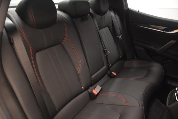 New 2018 Maserati Ghibli SQ4 GranSport Nerissimo for sale Sold at Aston Martin of Greenwich in Greenwich CT 06830 24