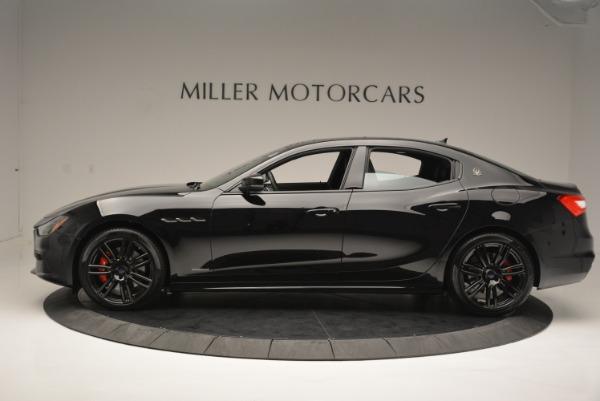 New 2018 Maserati Ghibli SQ4 GranSport Nerissimo for sale Sold at Aston Martin of Greenwich in Greenwich CT 06830 3