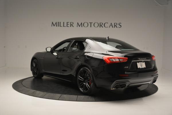 New 2018 Maserati Ghibli SQ4 GranSport Nerissimo for sale Sold at Aston Martin of Greenwich in Greenwich CT 06830 5