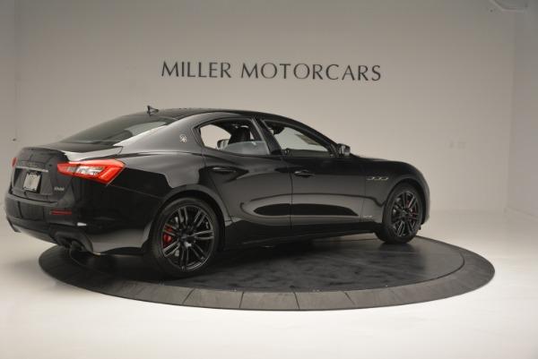 New 2018 Maserati Ghibli SQ4 GranSport Nerissimo for sale Sold at Aston Martin of Greenwich in Greenwich CT 06830 8