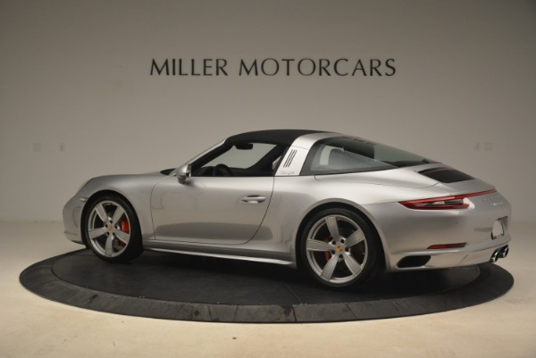 Used 2017 Porsche 911 Targa 4S for sale Sold at Aston Martin of Greenwich in Greenwich CT 06830 16
