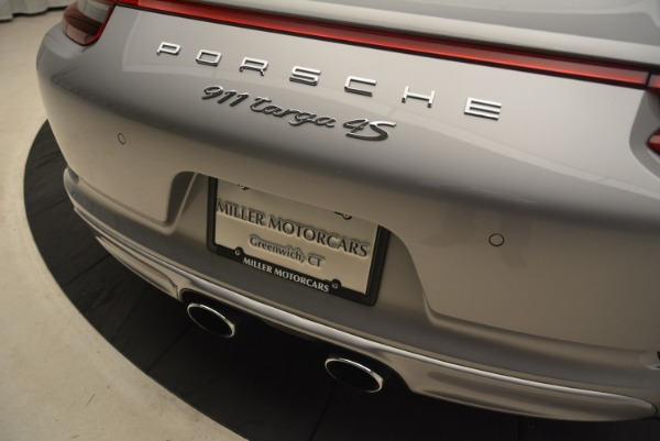 Used 2017 Porsche 911 Targa 4S for sale Sold at Aston Martin of Greenwich in Greenwich CT 06830 28