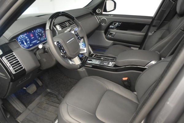 Used 2018 Land Rover Range Rover Supercharged LWB for sale Sold at Aston Martin of Greenwich in Greenwich CT 06830 17