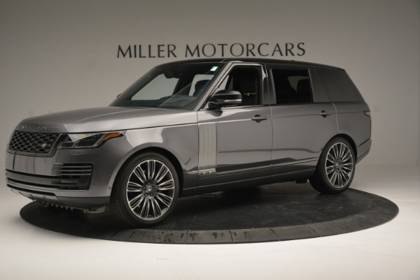 Used 2018 Land Rover Range Rover Supercharged LWB for sale Sold at Aston Martin of Greenwich in Greenwich CT 06830 2