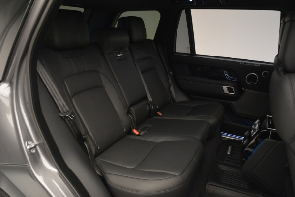 Used 2018 Land Rover Range Rover Supercharged LWB for sale Sold at Aston Martin of Greenwich in Greenwich CT 06830 27