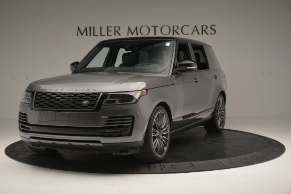 Used 2018 Land Rover Range Rover Supercharged LWB for sale Sold at Aston Martin of Greenwich in Greenwich CT 06830 1