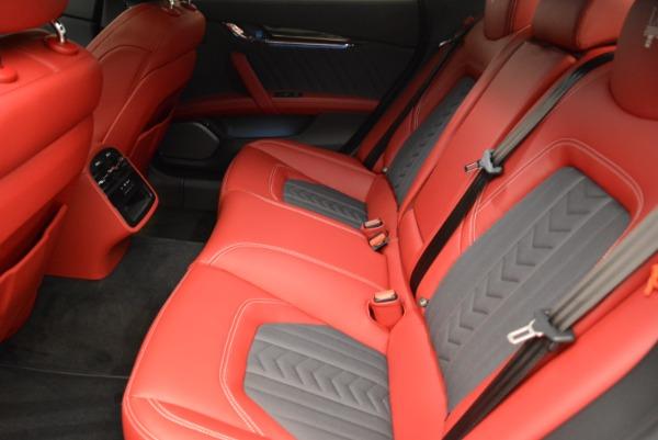 New 2018 Maserati Quattroporte S Q4 GranLusso for sale Sold at Aston Martin of Greenwich in Greenwich CT 06830 17