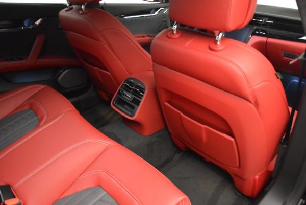 New 2018 Maserati Quattroporte S Q4 GranLusso for sale Sold at Aston Martin of Greenwich in Greenwich CT 06830 23