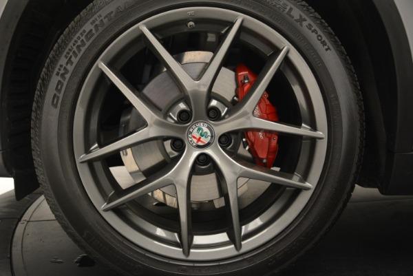 New 2018 Alfa Romeo Stelvio Ti Sport Q4 for sale Sold at Aston Martin of Greenwich in Greenwich CT 06830 28