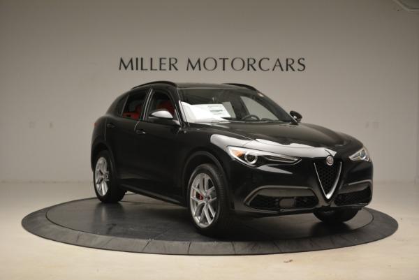 New 2018 Alfa Romeo Stelvio Ti Sport Q4 for sale Sold at Aston Martin of Greenwich in Greenwich CT 06830 11