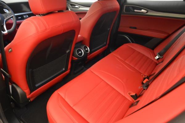 New 2018 Alfa Romeo Stelvio Ti Sport Q4 for sale Sold at Aston Martin of Greenwich in Greenwich CT 06830 15