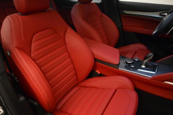 New 2018 Alfa Romeo Stelvio Ti Sport Q4 for sale Sold at Aston Martin of Greenwich in Greenwich CT 06830 19
