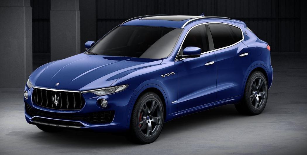 New 2018 Maserati Levante Q4 GranSport for sale Sold at Aston Martin of Greenwich in Greenwich CT 06830 1