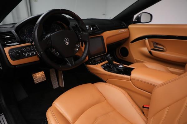 Used 2018 Maserati GranTurismo Sport for sale Sold at Aston Martin of Greenwich in Greenwich CT 06830 20