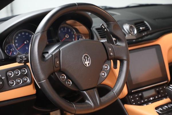 Used 2018 Maserati GranTurismo Sport for sale Sold at Aston Martin of Greenwich in Greenwich CT 06830 25