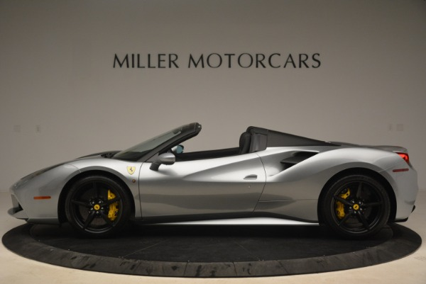 Used 2018 Ferrari 488 Spider for sale $274,900 at Aston Martin of Greenwich in Greenwich CT 06830 3