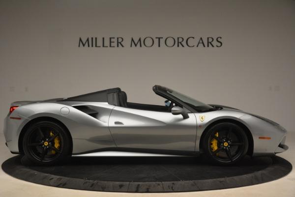 Used 2018 Ferrari 488 Spider for sale $274,900 at Aston Martin of Greenwich in Greenwich CT 06830 9