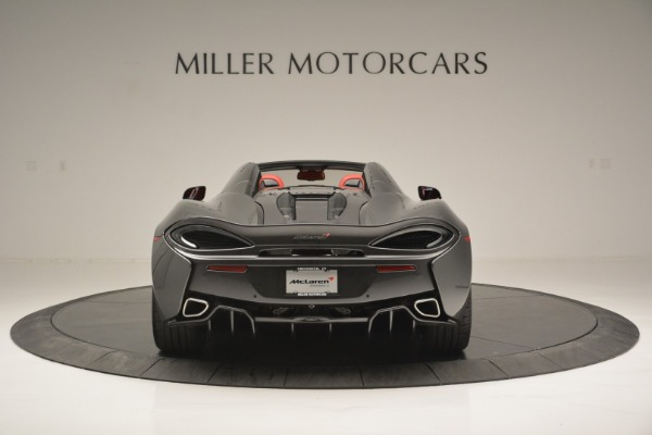 New 2018 McLaren 570S Spider for sale Sold at Aston Martin of Greenwich in Greenwich CT 06830 6
