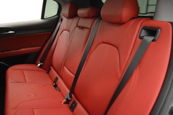 New 2018 Alfa Romeo Stelvio Ti Q4 for sale Sold at Aston Martin of Greenwich in Greenwich CT 06830 24
