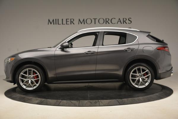 New 2018 Alfa Romeo Stelvio Ti Q4 for sale Sold at Aston Martin of Greenwich in Greenwich CT 06830 3