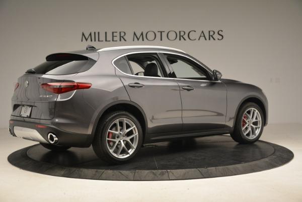 New 2018 Alfa Romeo Stelvio Ti Q4 for sale Sold at Aston Martin of Greenwich in Greenwich CT 06830 8