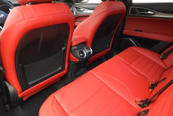 New 2018 Alfa Romeo Stelvio Ti Sport Q4 for sale Sold at Aston Martin of Greenwich in Greenwich CT 06830 20