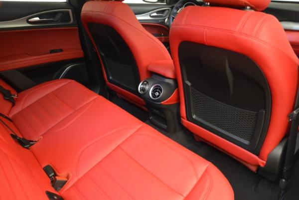 New 2018 Alfa Romeo Stelvio Ti Sport Q4 for sale Sold at Aston Martin of Greenwich in Greenwich CT 06830 23