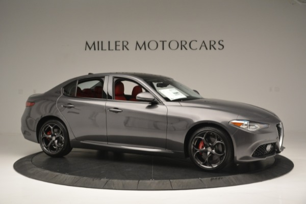 New 2018 Alfa Romeo Giulia Ti Sport Q4 for sale Sold at Aston Martin of Greenwich in Greenwich CT 06830 10