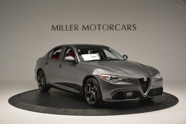 New 2018 Alfa Romeo Giulia Ti Sport Q4 for sale Sold at Aston Martin of Greenwich in Greenwich CT 06830 11