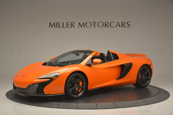 Used 2015 McLaren 650S Spider for sale Sold at Aston Martin of Greenwich in Greenwich CT 06830 2