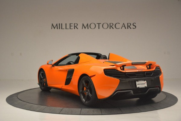 Used 2015 McLaren 650S Spider for sale Sold at Aston Martin of Greenwich in Greenwich CT 06830 5