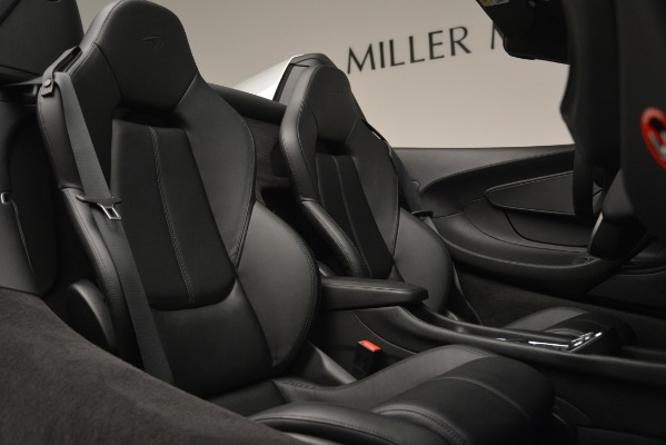 Used 2018 McLaren 570S Spider for sale Sold at Aston Martin of Greenwich in Greenwich CT 06830 28