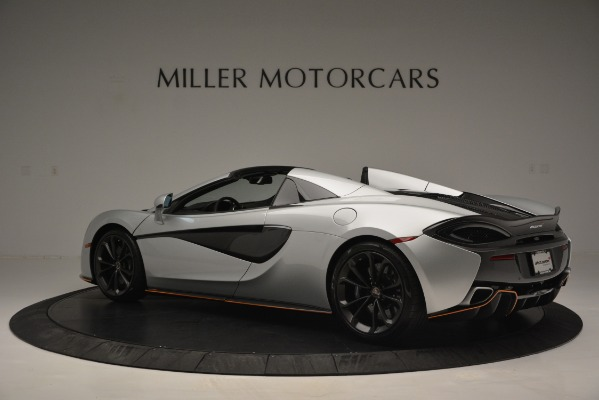 Used 2018 McLaren 570S Spider for sale Sold at Aston Martin of Greenwich in Greenwich CT 06830 4