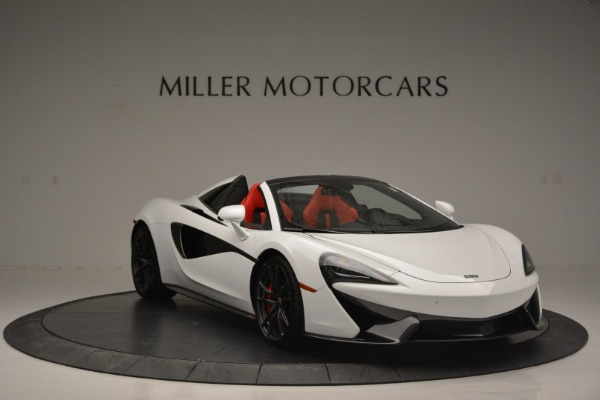 Used 2018 McLaren 570S Spider for sale Sold at Aston Martin of Greenwich in Greenwich CT 06830 11
