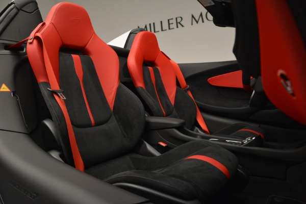 Used 2018 McLaren 570S Spider for sale Sold at Aston Martin of Greenwich in Greenwich CT 06830 26