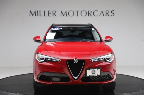 Used 2018 Alfa Romeo Stelvio Sport Q4 for sale Sold at Aston Martin of Greenwich in Greenwich CT 06830 12