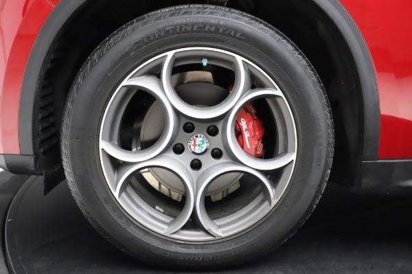 Used 2018 Alfa Romeo Stelvio Sport Q4 for sale Sold at Aston Martin of Greenwich in Greenwich CT 06830 14