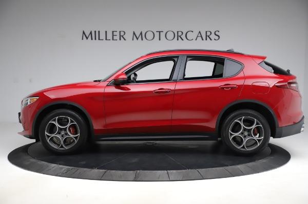 Used 2018 Alfa Romeo Stelvio Sport Q4 for sale Sold at Aston Martin of Greenwich in Greenwich CT 06830 3