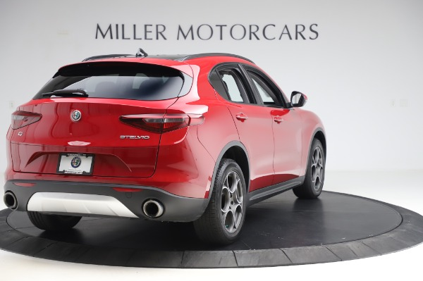 Used 2018 Alfa Romeo Stelvio Sport Q4 for sale Sold at Aston Martin of Greenwich in Greenwich CT 06830 7