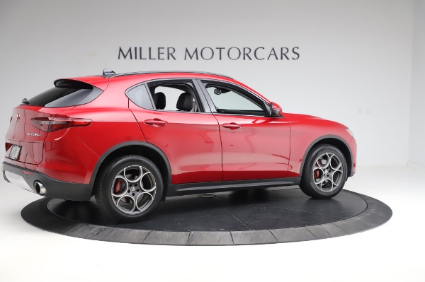 Used 2018 Alfa Romeo Stelvio Sport Q4 for sale Sold at Aston Martin of Greenwich in Greenwich CT 06830 8