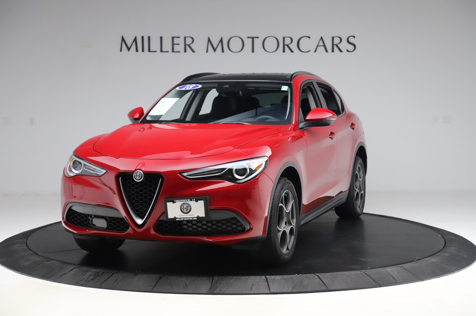Used 2018 Alfa Romeo Stelvio Sport Q4 for sale Sold at Aston Martin of Greenwich in Greenwich CT 06830 1